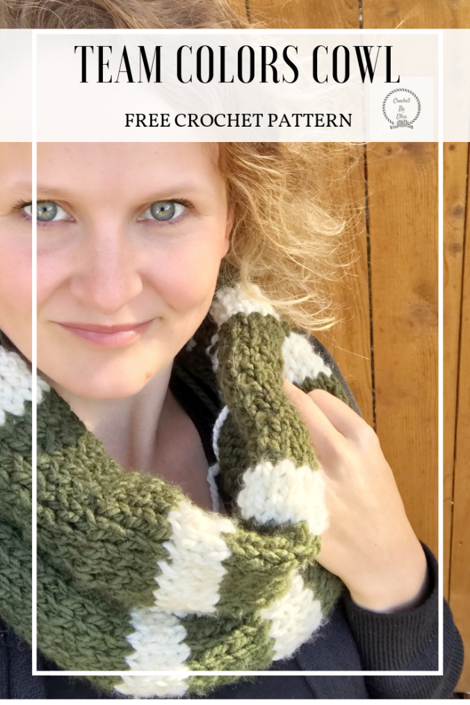 Team Colors Cowl Pinterest